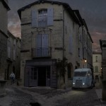 Rue à Uzès Art Photographique Alastair Magnaldo
