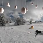 Photo de neige au Mont Lozère Photo Art Alastair Magnaldo
