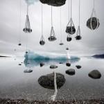Levitation iceberg Alastair Magnaldo Surreal Art Photography