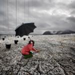 pluie spitzberg Alastair Magnaldo Photographie d'Art