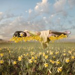 Flower daffodil Alastair Magnaldo Surreal Photo Art