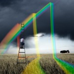 Arc en ciel Alastair Magnaldo Photographie d'Art surréaliste