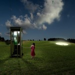 Appel cabine téléphonique Alastair Magnaldo Photographie d'Art surréaliste