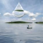 goutte d'eau Alastair Magnaldo Photographie d'Art surréaliste